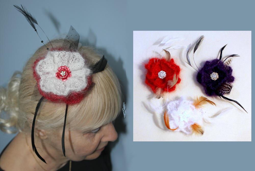 Party Perfect Corsages and Fascinator title=